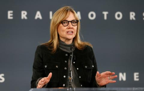 Mary T. Barra, CEO de General Motors.