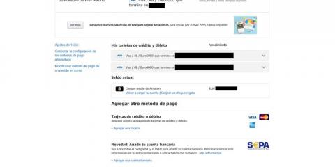Métodos de pago seguros en Amazon