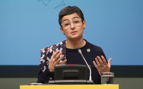 La ministra de Exteriores Arancha González Laya.