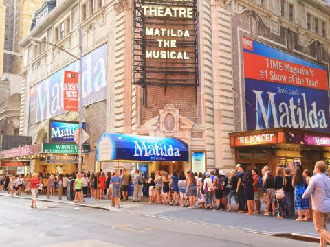 BEFORE: For most visitors (and many locals) no trip to New York is complete without catching a Broadway show.