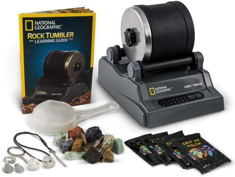 National Geographic Rock Tumbler