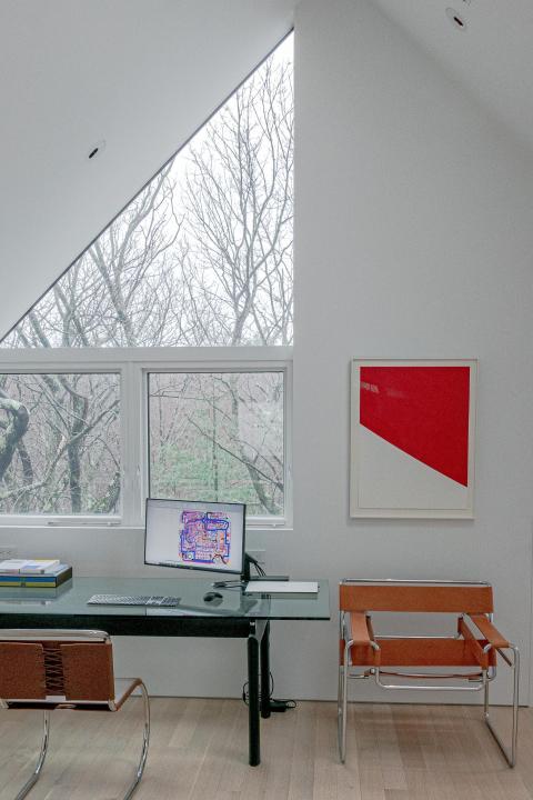La arquitectura es moderna.