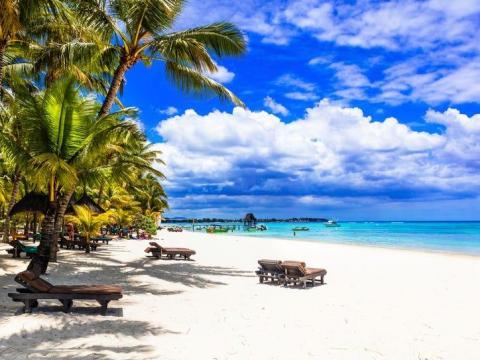Playa de Mauricio.