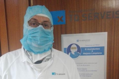 Pepe Gómez, coordinador de operaciones del sector cárnico en TQ Servicios, división de 'outsourcing' de Grup Montaner.