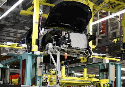 Planta de producción de Mercedes-Benz.