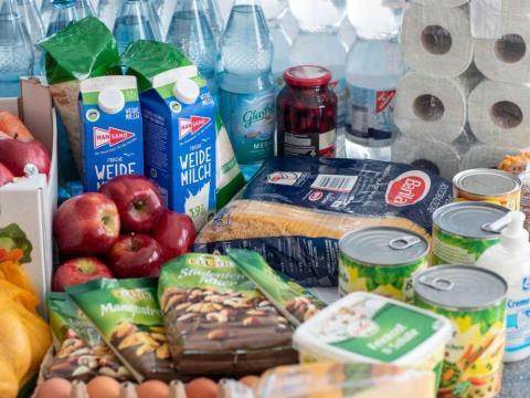 Compra alimentos no perecederos