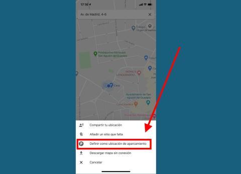 Recuerda dónde has aparcado con un simple toque en Google Maps