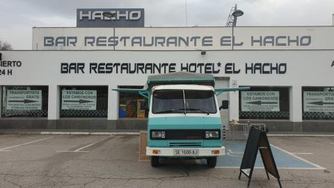 Restaurante El Hacho, héroe contra el coronavirus.