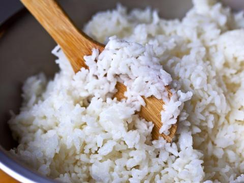 Rice is incredibly versatile, especially when it's already cooked.