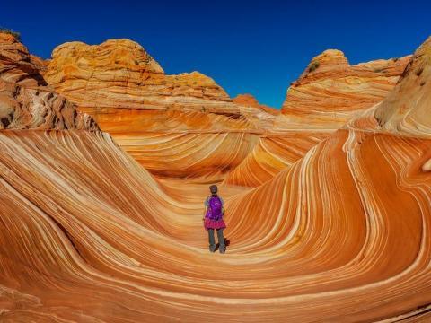 'The Wave', Arizona.