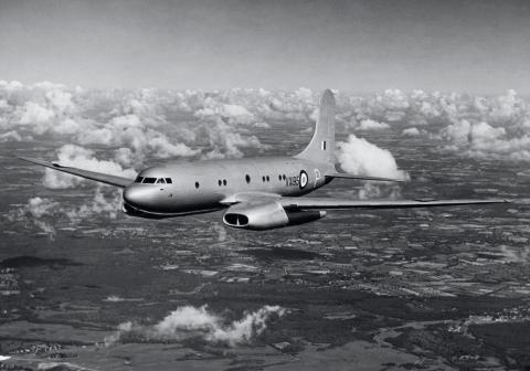 1948, Avión británico Avro Tudor.