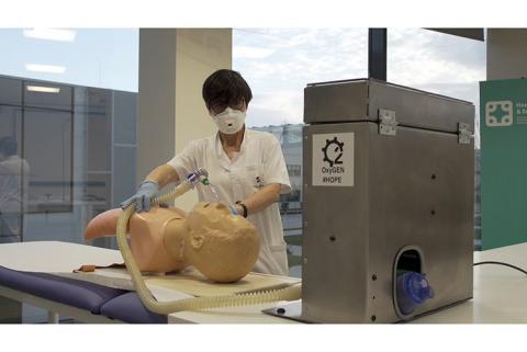Seat fabrica respiradores asistidos..