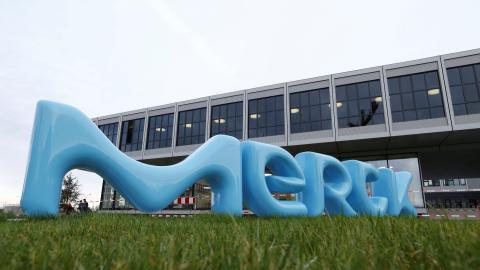 La sede central de Merck en la ciudad alemana de Damstadt
