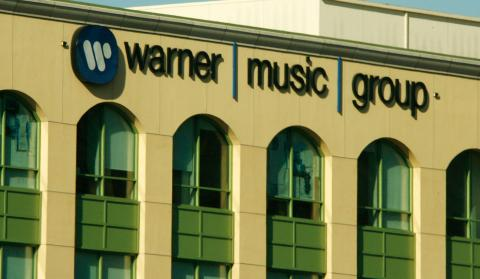 La sede central de Warner Music en Burbank (EEUU)¨