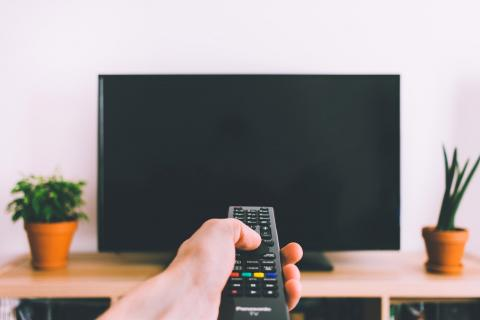 Televisor apagado