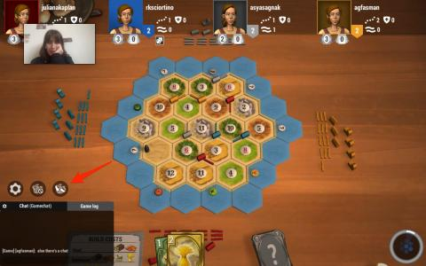 Trades are key to getting the materials you need in Catan.