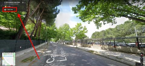 Utiliza street view para viajar en el tiempo y ver cómo era un lugar hace unos años en Google Maps