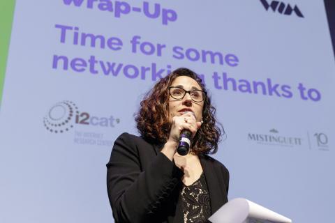 La cofundadora de Women in Mobile y Chief Operating Officer de CoKaiDo, Vanessa Estorach.