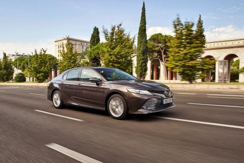 La navegación 'a vela', una de las virtudes del Toyota Camry 2020