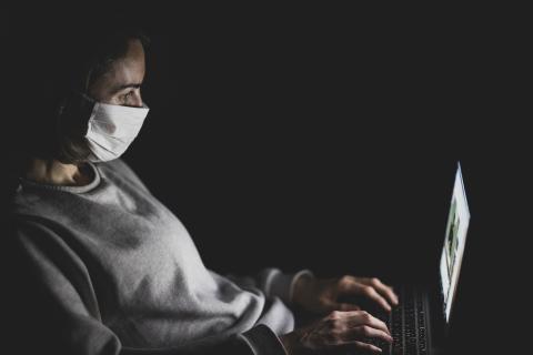 Virus en ordenador.