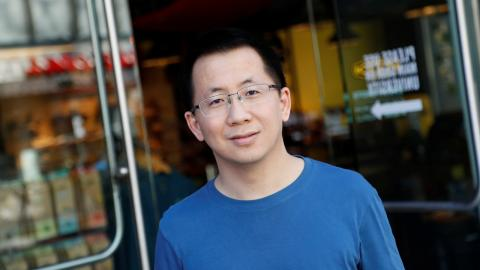 Yiming Zhang, CEO y fundador de ByteDance y TikTok.