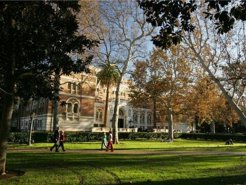 8. Marshall Business School en la Universidad del Sur de California
