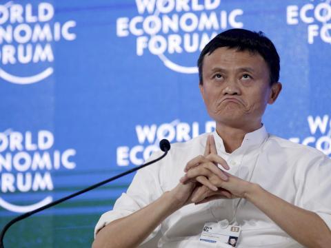 El ex presidente de Alibaba, Jack Ma.