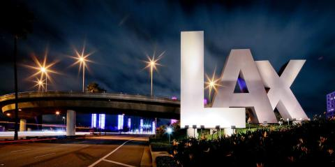 Los Angeles International Airport is one of more than a dozen travel hubs with AtmosAir systems.
