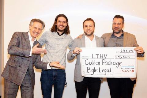 Bigle Legal gana el primer premio en el Legal Tech Hub de Vienna.