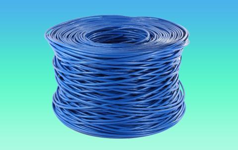 Bobina cable de red
