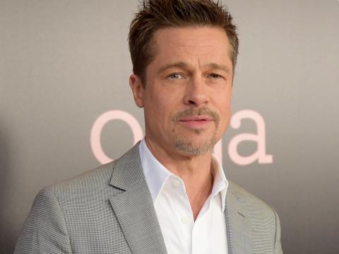 A Brad Pitt aparentemente no le entusiasmó la película.