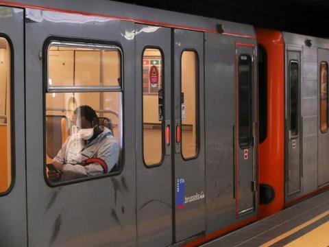 Tren de Bélgica.