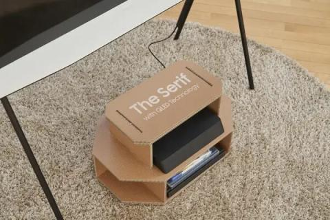 Cajas reutilizables de Samsung