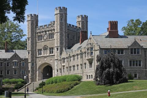 Campus de la Univerdidad de Princeton.