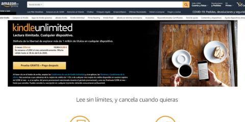 ¿Cómo acceder a la oferta de Kindle Unlimited?