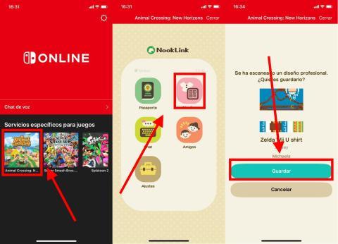 Cómo escanear códigos QR en Animal Crossing Hew Horizons