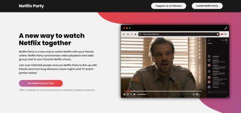 Cómo usar la extensión Netflix Party, paso a paso