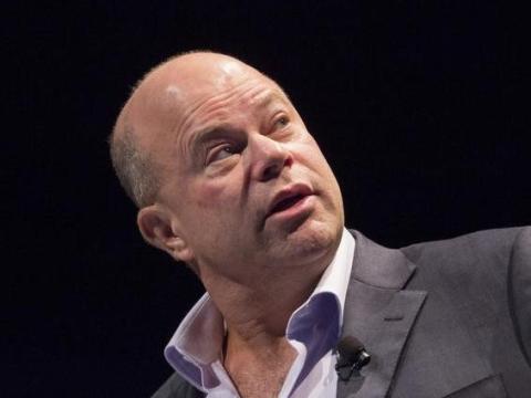 David Tepper, fundador de Apploosa Management, habla durante la Conferencia de Inversión Sohn en Nueva York.
