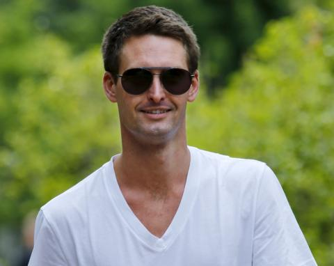 Evan Spiegel, CEO y fundador de Snap.