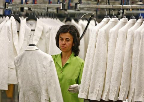 Trabajadora de Inditex