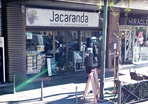 Fachada de Jacaranda, en la calle O'Donnell deMadrid.