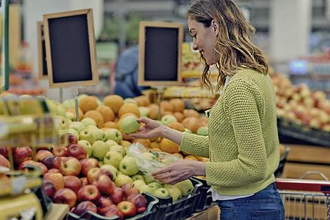 Fruta supermercado