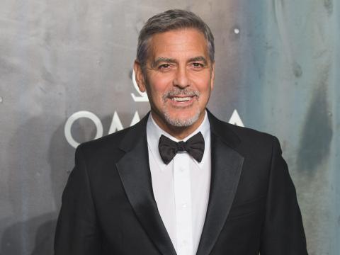 George Clooney interpretó a Batman en la película.