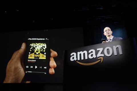 Jeff Bezos en una conferencia