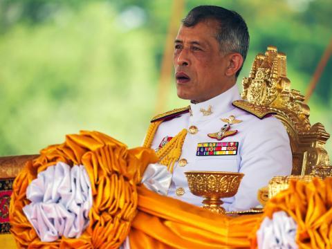 El rey Maha Vajiralongkorn en mayo de 2019