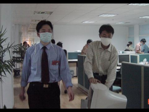 Los empleados de Alibaba pudieron llevarse a casa sus ordenadores en la cuarentena.