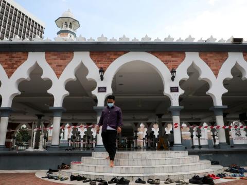 Mezquita en Malasia.
