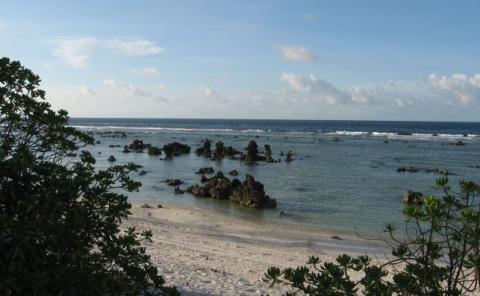 Playa de Nauru