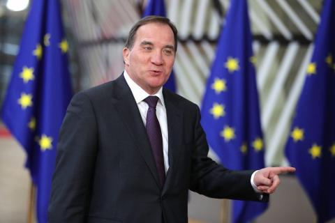 Stefan Lofven, primer ministro de Suecia.