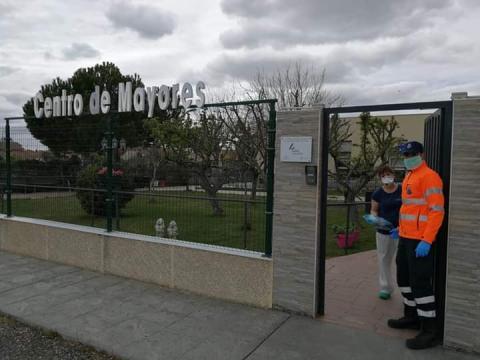 Protección Civil, frente al COVID-19.